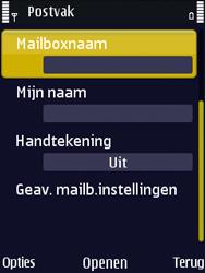 Nokia N86 - E-mail - Handmatig instellen - Stap 20
