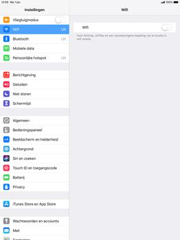 Apple ipad-pro-10-5-inch-ios-12 - WiFi - Verbinden met een netwerk - Stap 4