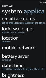 Nokia Lumia 900 - Internet - Manual configuration - Step 4