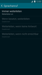 Samsung Galaxy S5 Mini - Anrufe - Rufumleitungen setzen und löschen - 0 / 0