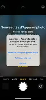 Apple iPhone 11 Pro - Photos, vidéos, musique - Créer une vidéo - Étape 3