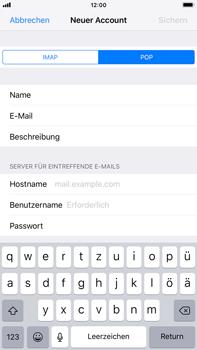 Apple iPhone 8 Plus - E-Mail - Konto einrichten - 12 / 27