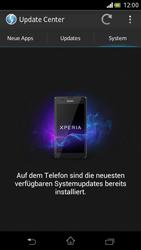 Sony Xperia V - Software - Installieren von Software-Updates - Schritt 8