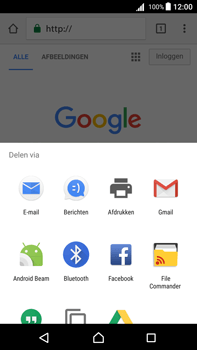 Sony Xperia Z5 Premium - Android Nougat - Internet - internetten - Stap 21