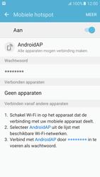Samsung Galaxy S6 - Android M - WiFi - Mobiele hotspot instellen - Stap 11