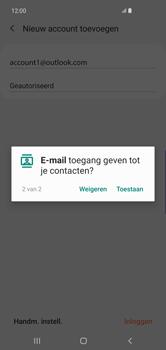 Samsung Galaxy S10 Plus - E-mail - handmatig instellen (outlook) - Stap 12