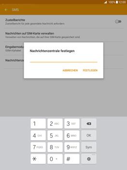 Samsung Galaxy Tab A 9.7 - SMS - Manuelle Konfiguration - 9 / 11