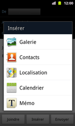 Samsung I8160 Galaxy Ace II - E-mail - envoyer un e-mail - Étape 9