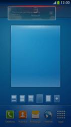 Samsung Galaxy S 4 Mini LTE - Operazioni iniziali - Installazione di widget e applicazioni nella schermata iniziale - Fase 10