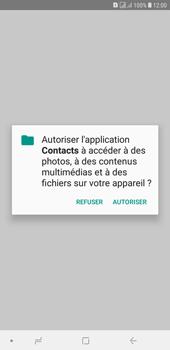 Samsung Galaxy J4+ - Contact, Appels, SMS/MMS - Ajouter un contact - Étape 10