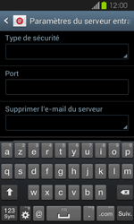 Samsung Galaxy Express - E-mail - Configuration manuelle - Étape 9