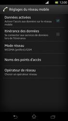 Sony Xperia T - Internet et roaming de données - Désactivation du roaming de données - Étape 7