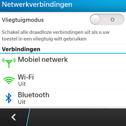 BlackBerry Q5 - bluetooth - headset, carkit verbinding - stap 5