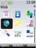 Nokia 2720 fold - internet - hoe te internetten - stap 2