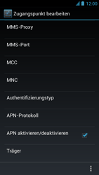 Alcatel One Touch Idol - Internet und Datenroaming - manuelle Konfiguration - Schritt 15