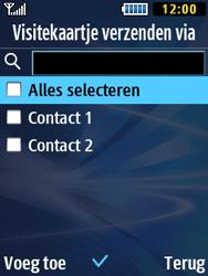 Samsung B2710 Xcover 271 - Contacten en data - Contacten overzetten via Bluetooth - Stap 7