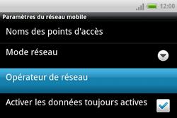 HTC A810e ChaCha - Réseau - utilisation à l'étranger - Étape 9