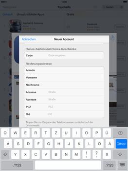 Apple iPad mini iOS 7 - Apps - Einrichten des App Stores - Schritt 21