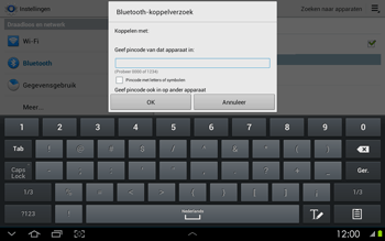 Samsung P5100 Galaxy Tab 2 10-1 - Bluetooth - headset, carkit verbinding - Stap 7