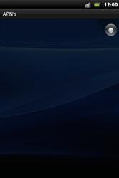 Sony Xperia Mini Pro - Internet - Manual configuration - Step 11