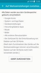 Samsung Galaxy J5 - Fehlerbehebung - Handy zurücksetzen - 2 / 2