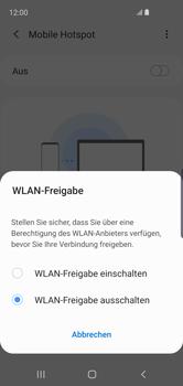Samsung Galaxy S10e - WiFi - So aktivieren Sie einen WLAN-Hotspot - Schritt 7