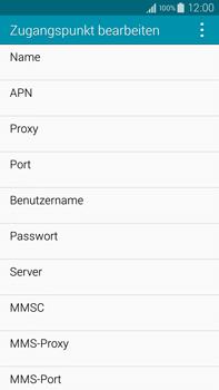 Samsung Galaxy Note 4 - Internet - Manuelle Konfiguration - 0 / 0