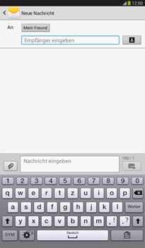 Samsung T211 Galaxy Tab 3 7-0 - MMS - Erstellen und senden - Schritt 11