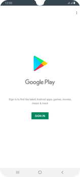 Samsung Galaxy A70 - Applications - Setting up the application store - Step 4