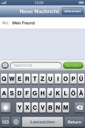 Apple iPhone 4 - MMS - Erstellen und senden - Schritt 9