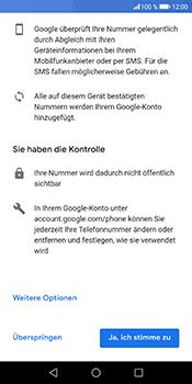 Huawei Honor 9 Lite - Apps - Konto anlegen und einrichten - 13 / 21