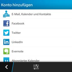 BlackBerry Q5 - E-Mail - Konto einrichten - 2 / 2