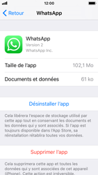 Apple iPhone 5s - iOS 11 - Applications - Comment désinstaller une application - Étape 6