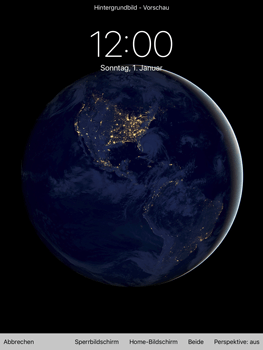 Apple iPad Air 2 - iOS 11 - Hintergrund - 0 / 0