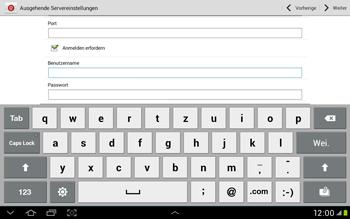 Samsung Galaxy Tab 2 10.1 - E-Mail - Manuelle Konfiguration - Schritt 11