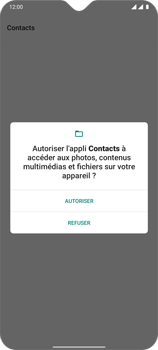 OnePlus 7T - Contact, Appels, SMS/MMS - Ajouter un contact - Étape 6