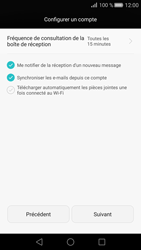 Huawei P8 - E-mail - Configuration manuelle (outlook) - Étape 8