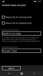 Microsoft Lumia 535 - E-mail - Manual configuration - Step 21