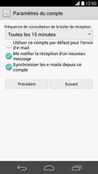 Huawei Ascend P6 - E-mail - Configuration manuelle - Étape 17