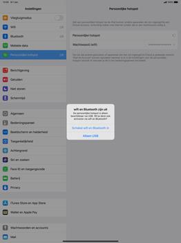 Apple ipad-pro-12-9-inch-2018-Model A1895-ipados-13 - WiFi - Mobiele hotspot instellen - Stap 7