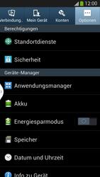 Samsung Galaxy S 4 LTE - Apps - Eine App deinstallieren - Schritt 5