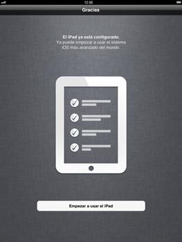 Apple iPad 2 - Primeros pasos - Activar el equipo - Paso 16