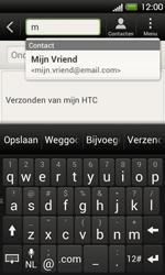 HTC T320e One V - E-mail - E-mails verzenden - Stap 6