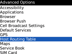 BlackBerry 8520 Curve - Settings - Configuration message received - Step 5