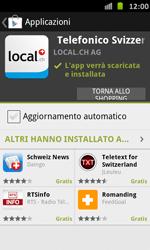 Samsung Galaxy S Advance - Applicazioni - Installazione delle applicazioni - Fase 9