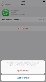 Apple Apple iPhone 7 Plus - Apps - Eine App deinstallieren - Schritt 8