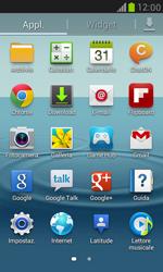 Samsung Galaxy S III Mini - Internet e roaming dati - Uso di Internet - Fase 3