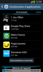 Samsung Galaxy Ace 3 - Applications - Supprimer une application - Étape 9