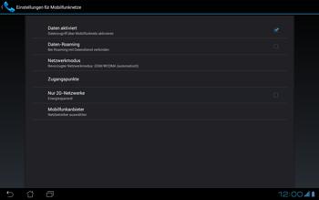 Asus Padfone - Internet - Apn-Einstellungen - 8 / 25
