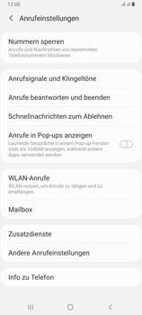 Samsung Galaxy A80 - Anrufe - Rufumleitungen setzen und löschen - Schritt 6